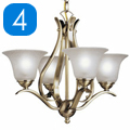 Shop 4 Light Chandeliers