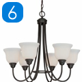 Shop 6 Light Chandeliers