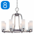Shop 8 Light Chandeliers