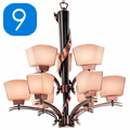 Shop 9 Light Chandeliers