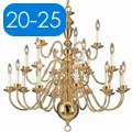 Shop 20-25 Light Chandeliers