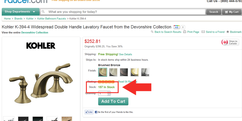 e522251a5d0b When a product page indicates there is zero in stock