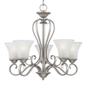 Quoizel DH5005 Renaissance 5 Light Up Lighting Chandelier from Duchess Collection